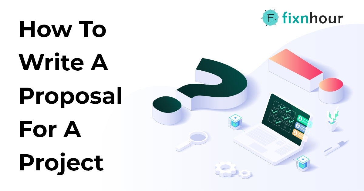 How to write a proposal for a project